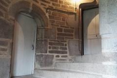 Le grand escalier en pierre