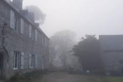 Le manoir par temps de brouillard