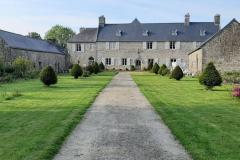 Le manoir de Keranflec'h  à Milizac dans le Finistère Nord près de Brest